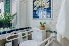 Accessible Bathroom with Pop of Color (2)
