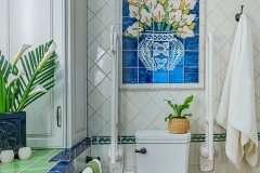 Accessible Bathroom with Pop of Color (3)