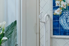 Accessible Bathroom with Pop of Color (5)