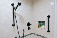 Accessible Bathroom with Pop of Color (9)
