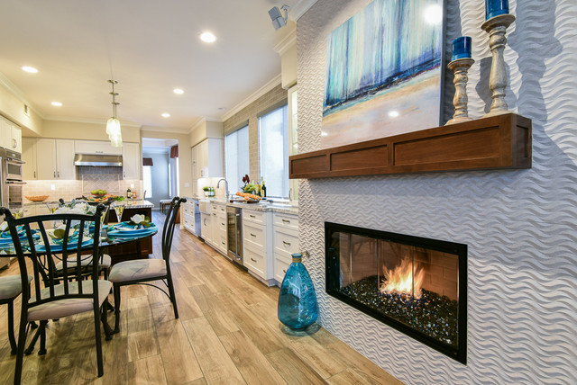 Whole Home Remodel Beach Style Fireplace Cairnscraft