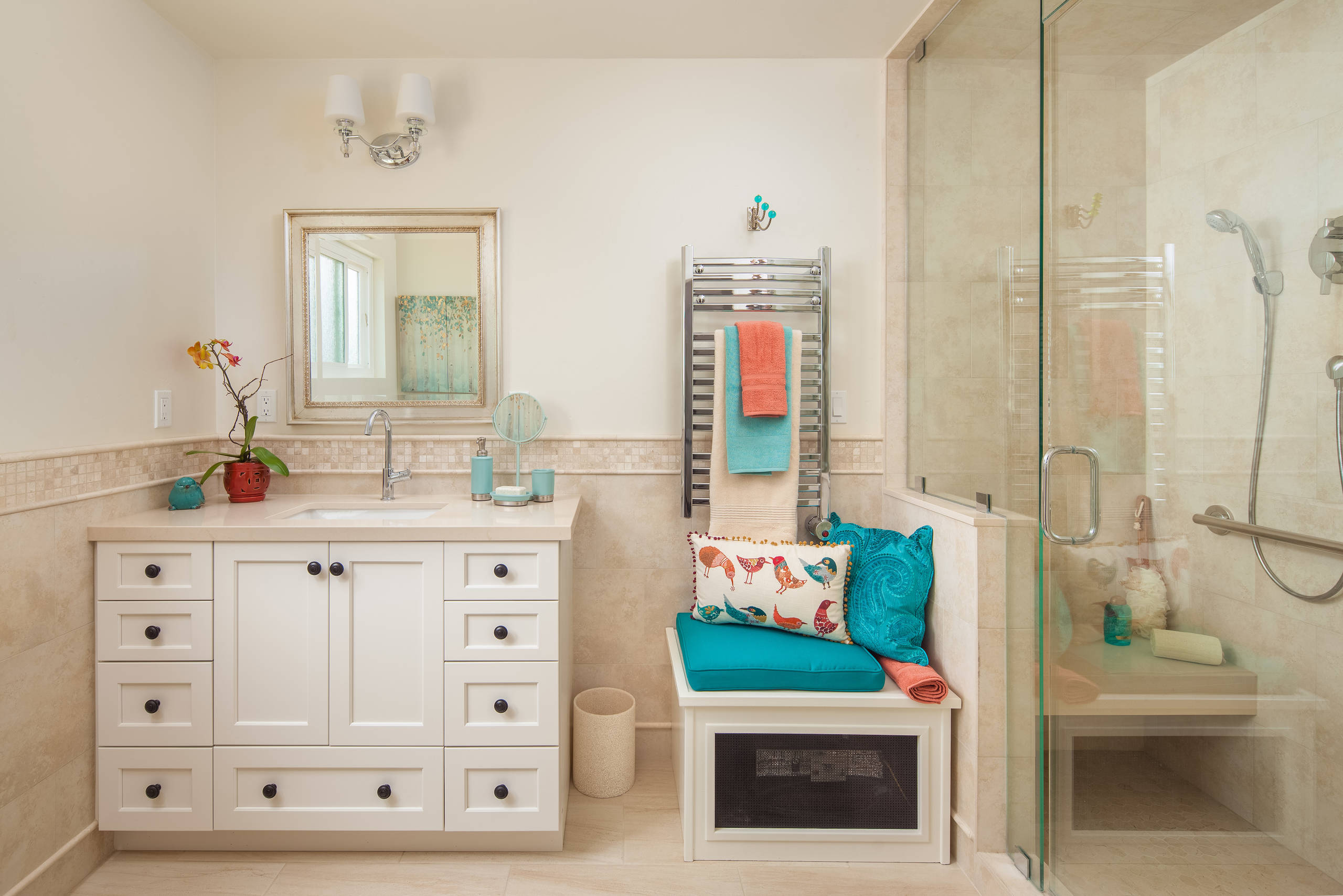 Spa-like Master Bathroom - CairnsCraft Design & Remodel